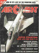 Air Combat May 1985 Chinook F-4 Phantom KC-10 US Navy VF-121 Retired Medical