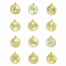 Collares y colgantes de joyería de metales preciosos sin piedras colgantes, Horóscopo
