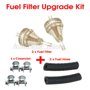 8 IN 1 Fuel Filter + Hose+ Connector Upgrade Kit For Eberspacher Webasto