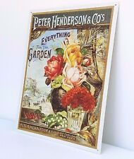 Hanging Sign by Peter Henderson Everything for the Garden Porch Sun Room Decor