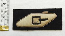 An Original Military RTR Tank Regiment Corps Bullion Cloth Formation Badge (4575