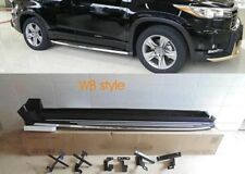 TOYOTA KLUGER 2014-2018 WB STYLE SIDE STEPS  FITTING AVAILABLE 20MORE ON DISPLAY