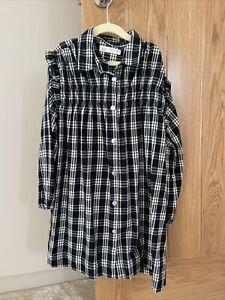 Zara Girls Checked Dress Age 8