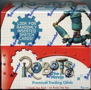 Robots Movie Hobby Card Box