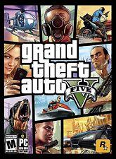 Grand Theft Auto V GTA 5 - PC Windows 2015 NEW