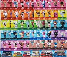 Custom Animal Crossing Amiibo NFC Cards (ACNH Compatible) -- Choose Villagers!