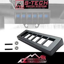 S-Tech Jeep Wrangler TJ LJ overhead 6 switch panel mount kit