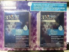 New and Sealed Crest 3D White Whitestrips 1 Hour Express 8 Treatments
