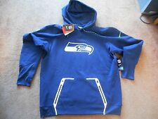 Authentic Nike Thermal Fit On-Field Seattle Seahawks Coach Hoodie Men XL TAG NEW