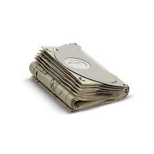 5 Pack Of Genuine Karcher Vacuum Hoover Paper Filter Kit Bags 6.904-143.0
