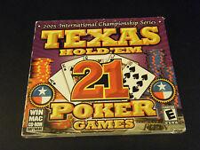 Texas Hold 'Em 21 Poker Games (PC & MAC, 2004)