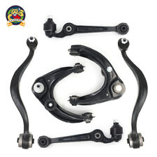 Front Upper & Lower Control Arms Ball Joint Kit for Mazda 6 Fusion Mercury Milan