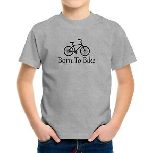 Ride Bikes Toddler Kids Tee Youth Tshirt Infant Baby Bodysuit Gift Born To Bike