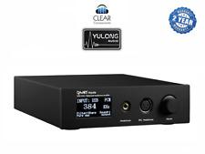 Yulong Aquilla-DSD ak4497 DAC BLACK digitale analogica CONV. USB poiché CONVERTITORE Highend