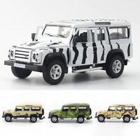 1:36 Land Rover Defender SUV Safari Die Cast Modellauto Spielzeug Kind Sammlung
