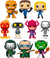 SET of 10 Fantastic Four Funko Pop Vinyls New in Boxes