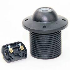 E27 Kunststoff Dach-Fassung Dachfassung schwarz Lampen-Fassung Leuchten-Fassung