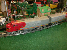 LIONEL TRAINS POSTWAR 2353 SANTA FE F3 AA DIESELS ALL ORIG RUN GREAT FOR OPERATO