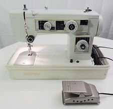 Morse sewing machine model 5100 with pedal cord and case