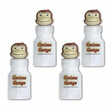 4 Curious George Childrens Birthday Party Favor Treat Bubbles
