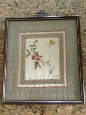 Antique Chinese Framed Textile Art