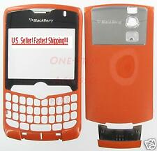 Lot 6 New Orange OEM Housing Case BlackBerry 8330 Curve
