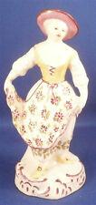 Rare 18thC Limbach Thuringia Porcelain Lady Dancer Figurine Porzellan Figur