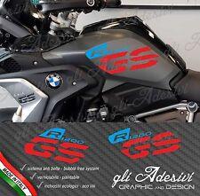 Set Adesivi Fianco Serbatoio Moto BMW R 1200 gs LC Executive 2017 RALLY Color