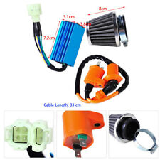 Racing Ignition Coil+CDI+Air Filter Kit For GY6 50-150cc Scooter ATV Go Kart
