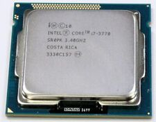 Intel Core I7-3770 3.40GHz 8MB Quad Core CPU Processor Socket