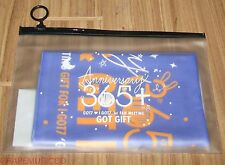 GOT7 THE FIRST FAN MEETING 365+ OFFICIAL GOODS SLOGAN TOWEL NEW