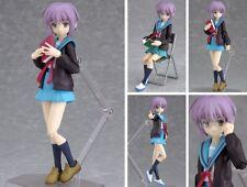 Yuki Nagato Uniform Ver. Max Factory Action Figure Figma No.001