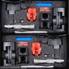 2x Xenon Cree LED Fahrrad Beleuchtung Licht Set SI Fahrradlampe Fahrradlicht Neu