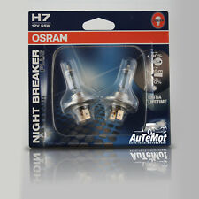 2x OSRAM h7 'NIGHT BREAKER PLUS' AUTO LAMPADE 12v/55w px26d come Xenon DUO SET 2er