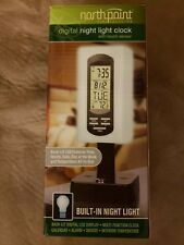 Northpoint Digital Night Light Clock with touch sensors