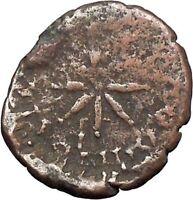 SEPTIMIUS SEVERUS  Nicopolis ad Istrum Rare Ancient Roman Coin Star  i49403