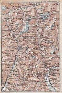 C2623 Italy - Saint Bernardino - Splügen - Basket Geographical Period - 1923 Old