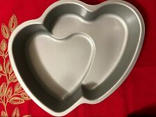 Heart Shaped Baking Pan, Double Hearts Valentines, Parties, Romantic Dinners