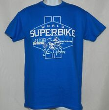 Men's Graphic Tee OCTANE Blue/White World Superbike AMA, T-Shirt