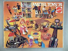Mattel Toys CATALOG - 1974 ~~ toy