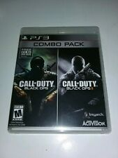 Call of Duty Black Ops 1 & 2 PlayStation 3