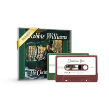 Robbie Williams the Christmas present signed CD & Ltd Edition Red/green Cassette