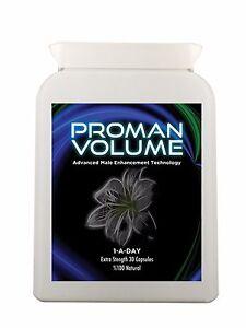 ProMan volume increase the volume of semen 500% - Male Fertility mile
