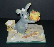Charming Tails Binkey'S First Cake Bunny & Carrot Cake Excellent Condition
