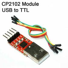 New Usb 20 To Ttl Uart 5pin Module Serial Converter Cp2102 Stc Prgmr With Cable