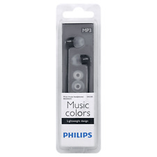 BRAND NEW: Philips Music Colors SHE3580 Black In-Ear only Headsets | NIB | + FS!