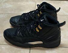 Nike Air Jordan 12 XII Retro The Master 130690-013 Mens Black Shoes size 9.5
