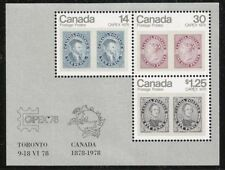 Historical Figures Canadian Mint Stamps
