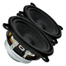 """Pair Faital PRO 3FE22 3"""" NEO Full Range Line Array Woofer Speaker s 4 ohm 91dB"""