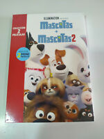 Mascotas + Mascotas 2 Coleccion + 2 Mini Peliculas - 2 x DVD + Extras Nuevo 2T